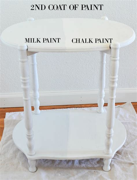 chalk paint vs rustoleum chalk paint rust oleum milk paint vs chalk paint
