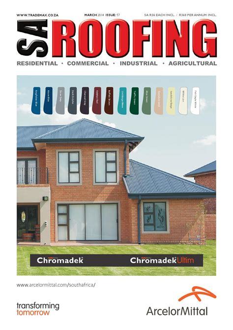 New Farmhouse Plans sa roofing march 2014 issue 57 by trademax publications