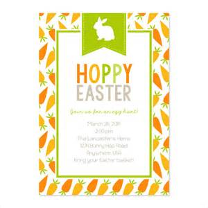 easter templates free 30 easter invitation templates free sle exle