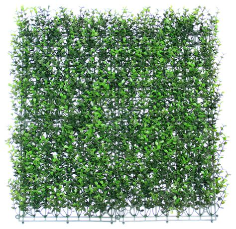 Artificial Boxwood Hedge Mat by 6 Pieces 20 Quot X20 Quot Green Leaf Garden Artificial Boxwood Hedge Mat Home Fencing And Gates
