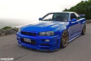 R34 Gtr Nissan Skyline Blue Nissan Skyline R34 For Sale Autos Weblog