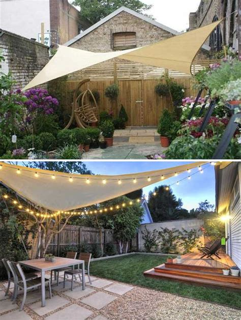 backyard sun shades outdoor stunning ways to bring shade to yard or patio amazing