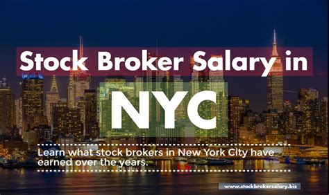 what is the average stock broker salary in nyc