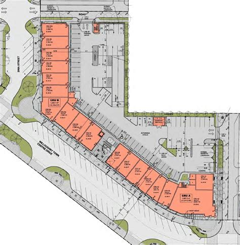 building site plan the south fraser new proposed commercial retail building in willoughby town centre being