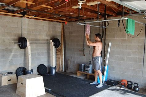 home ideas home garage diy fitness