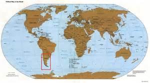 Full World Map by Trekchile Maps