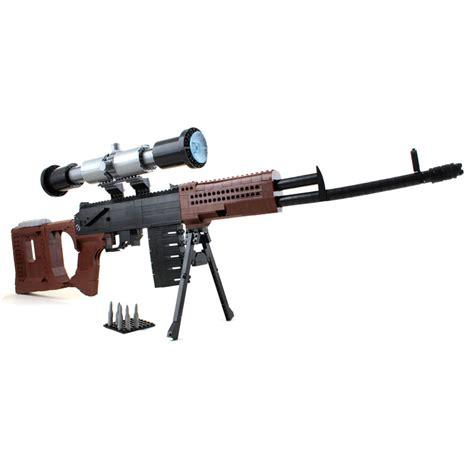 Lego Ausini Svd Sniper 22803 dragunov svd sniper rifle lego compatible gun other
