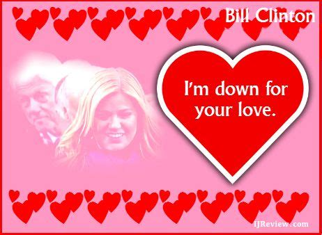 valentines cards clintons 100 best bill clinton 42nd president images on