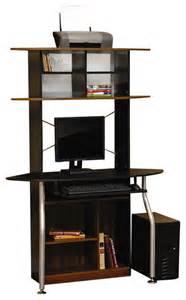 Studio Rta Computer Desk Studio Rta Corner Computer Desk In Black And Maple Modern Desks And Hutches