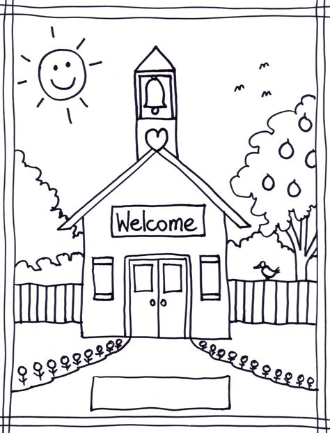 preschool coloring pages school back to school coloring pages free printables image 22