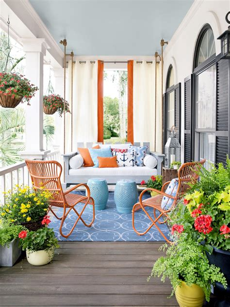 Putting It Together An Outdoor Room by Porch Design And Decorating Ideas Outdoor Spaces Patio
