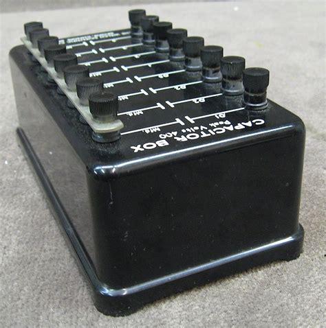 buy resistors brisbane capacitor decade box 28 images cropico cm5 n decade capacitance box 5 decade capacitance