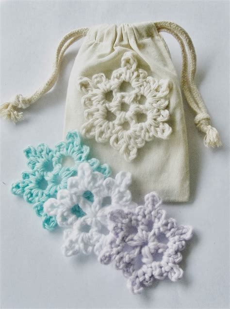 snowflake motif pattern flower girl cottage easy crochet snowflake pattern