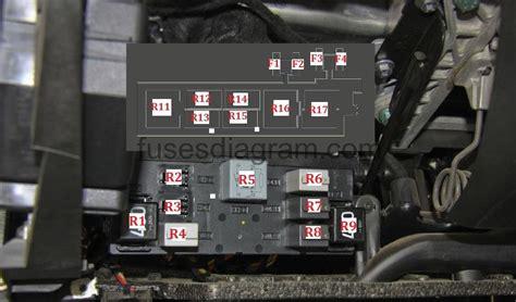 airbag deployment 2011 volkswagen touareg windshield wipe control fuse box volkswagen passat b6