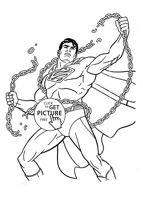 coloring pages free for superman coloring pages for printable free coloing