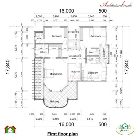 kerala house plan and elevation dimension house floor plans