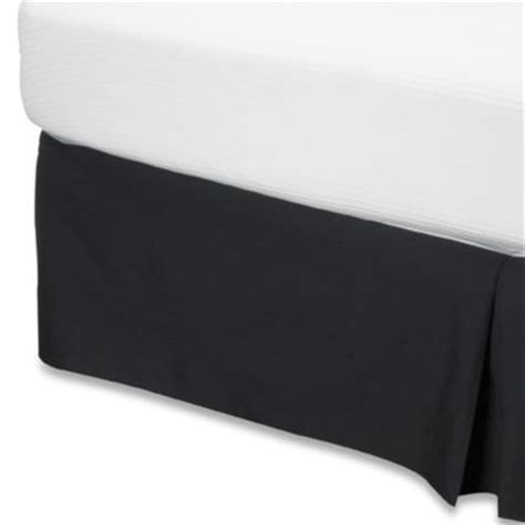 14 inch bed skirt smoothweave 14 inch tailored bed skirt bed bath beyond