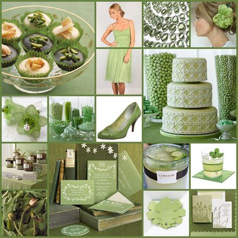 green and decorations beautiful bridal green wedding ideas