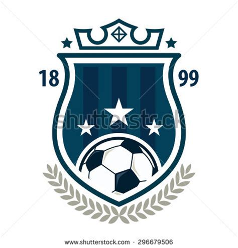 Soccer Crest Stock Images Royalty Free Images Vectors Shutterstock Soccer Design Template