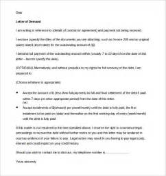 demand letter template free demand letter templates 15 free word pdf documents
