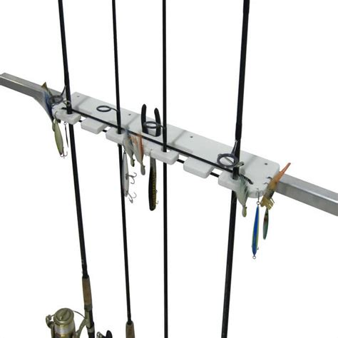 Boat Rod Racks by 4 Rod Pontoon Rod Holder Boat Outfitters