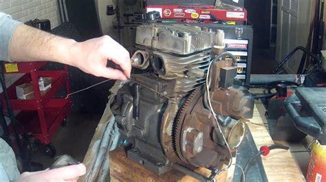 tecumseh hm engine part  carburetor installation youtube