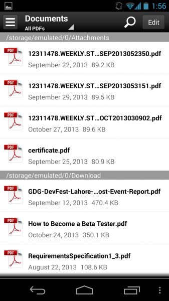 pdf reader for android free apk adobe reader 11 1 2 apk for android now