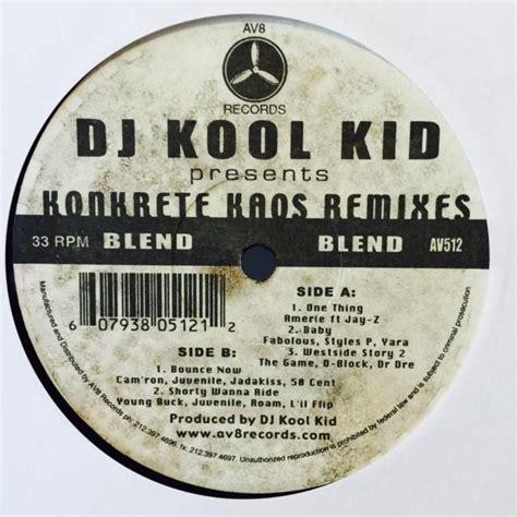 Kaos Kool dj kool herc records lps vinyl and cds musicstack