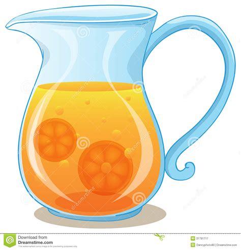 imagenes de jarras vintage una jarra de zumo de naranja ilustraci 243 n del vector