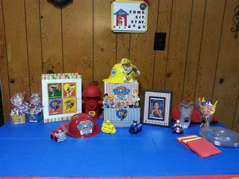 Paw Patrol Decorations by Paw Patrol Table Decorations Paw Patrol