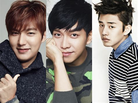 lee seung gi ho dong lee min ho lee seung gi and yoo ah in engage in rush of