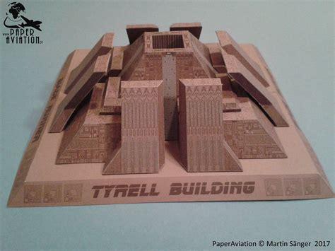 Papercraft Pyramid - ninjatoes papercraft weblog papercraft quot blade runner