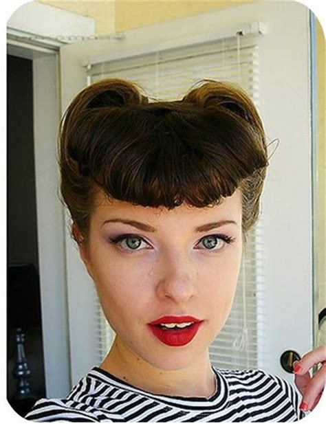 quick and easy retro hairstyles quick and easy vintage hairdos hair tips juxtapost