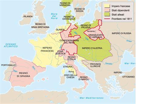 porti militari francesi cartina europa napoleonica my