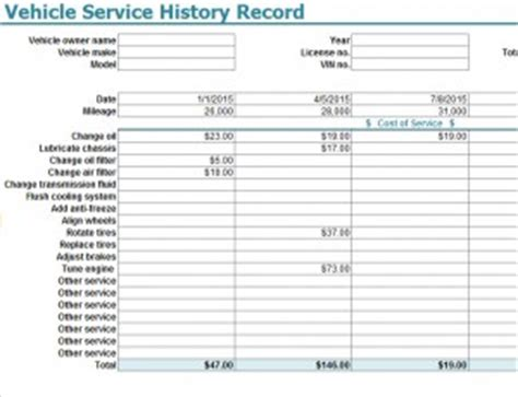 car service record template directory for uk phone numbers phone book