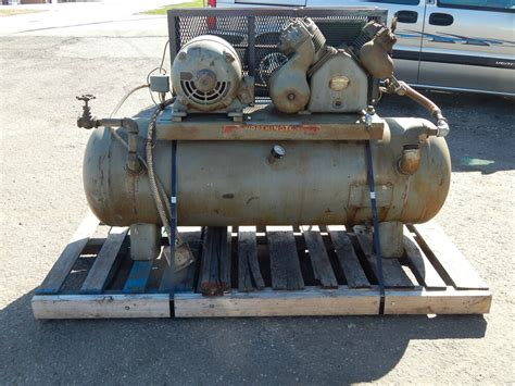 worthington 5hp air compressor ebay