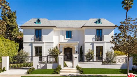 million newly built french provincial mansion  beverly hills ca homes   rich