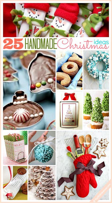 25 handmade christmas ideas diy awesomeness