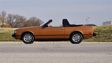 1980 Toyota Celica Convertible 1980 Toyota Celica Sunchaser Convertible T123 Indy 2016