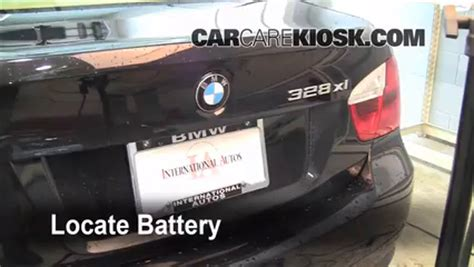 where is the battery on a bmw 328i battery replacement 2006 2013 bmw 328i 2007 bmw 328i 3
