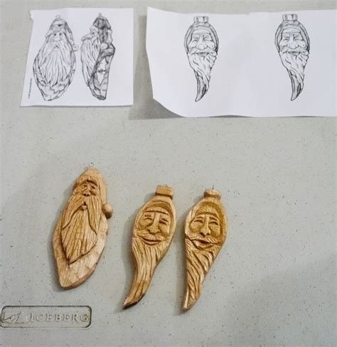 wood carving christmas ornaments patterns