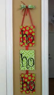 Homemade christmas door hanger decoration ideas family holiday net