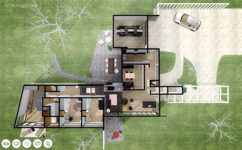 Modern Homes Plans Gallery Of A Virtual Look Into Richard Neutra S Unbuilt