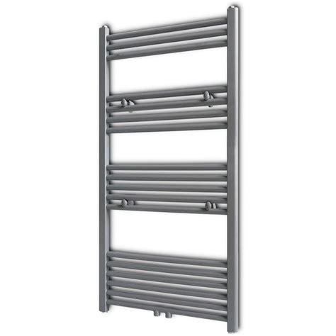 central heating towel rails bathrooms vidaxl co uk grey bathroom central heating towel rail