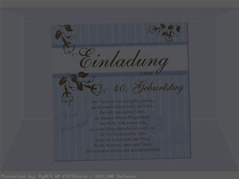 Muster Einladung Text Einladung 40 Geburtstag Text Geburtstag Einladung