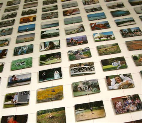 ways to display photos without frames 20 creative ways to display family photos