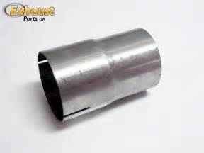 Exhaust Parts Uk Exhaust Pipe Connector Sleeve Joiner 50 8mm 2 Quot Adapter Ebay