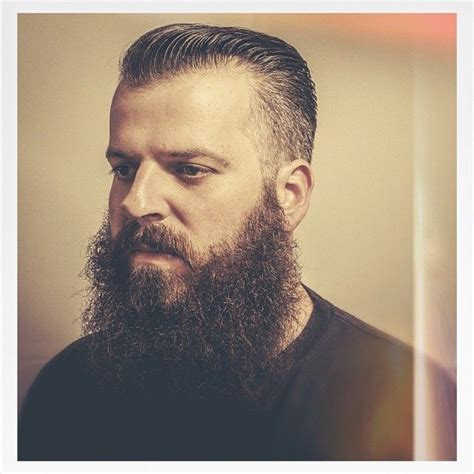 best executive haircuts executive contour with full natural beard haircut by