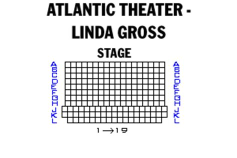 delacorte theater seating chart broadway and broadway seating charts and plans