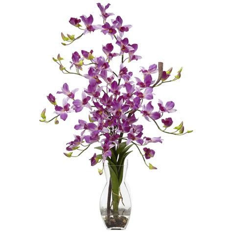 Orchid Arrangements In Vases by Silk Dendrobium Orchid Arrangement In Vase 1190 Nearly